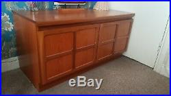 Vintage Mid Century Nathan Scandi Teak Sideboard Cupboard Cabinet Unit