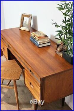 Vintage Retro Desk Teak Mid Century Butilux G Plan Danish Refurbished