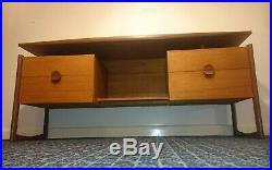 Vintage Retro Durable Suite Dressing Table Desk Teak Mid Century MCM 1960s