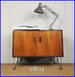 Vintage Retro G-Plan Mid Century Danish Style Teak Hairpin Leg Sideboard