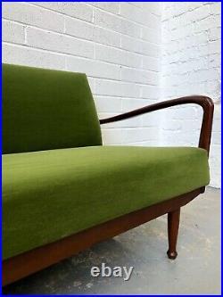 Vintage Retro Greaves & Thomas Teak Sofa Bed Mid Century Danish. G Plan DELIVERY