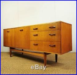 Vintage Retro Mid Century Danish Style Teak Sideboard