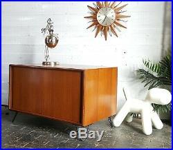 Vintage Retro teak Mid Century GPlan cupboard Hairpin legs sideboard tv Cabinet