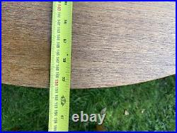 Vintage Round Extendable Dining Table And Chairs Mid Century Retro