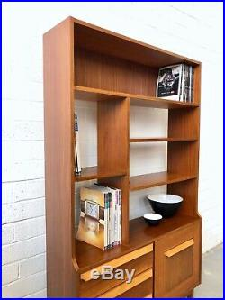 Vintage STONEHILL Teak. Book Case / Room Divider Danish Retro G Plan Mid Century