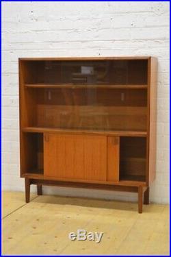Vintage Sideboard Bookcase Teak Mid Century G Plan Era McIntosh UK DELIVERY