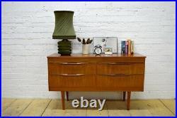 Vintage Sideboard Mid Century danish design tv stand teak mid century UKDELIVERY