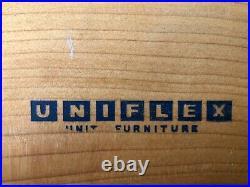 Vintage Uniflex Gunter Hoffstead Teak Sideboard Danish Retro Mid Century G Plan