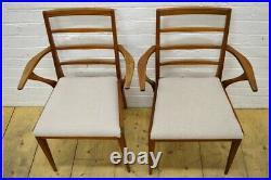 Vintage teak dining chairs McIntosh x 2 danish design mid century UK DELIVERY