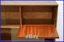 Vintage teak sideboard bookcase bureau Nathan mid century danish UK DELIVERY