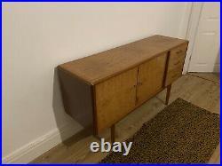 Walnut Retro Mid Century Sideboard Vintage Antique